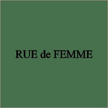 Logo for Rue de Femme